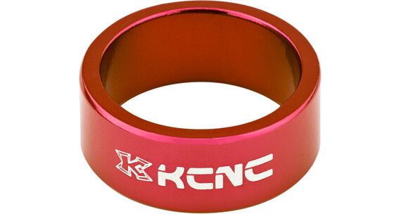 "KCNC Headset Spacer 1 1/8"" 14mm rød"